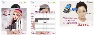 楊冪SonyEricsson手機主題for Elm/Hazel/Yari/W20﹝240x320﹞