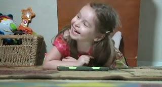 A 3 ans elle possède déjà le Q.I d'Einstein