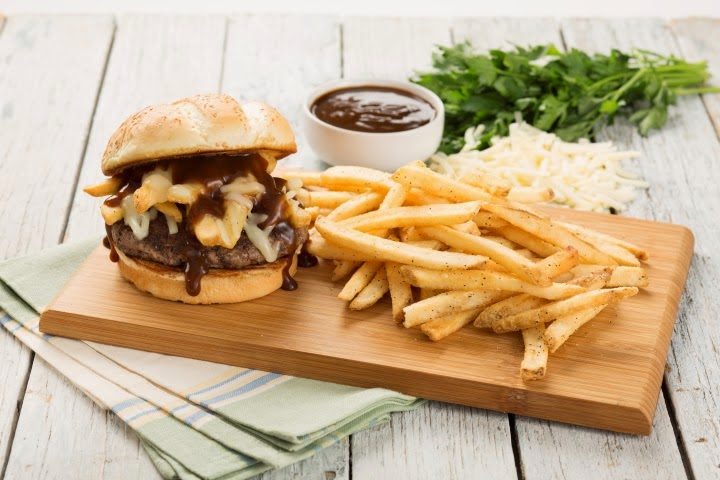 Poutine Burger Applebee's