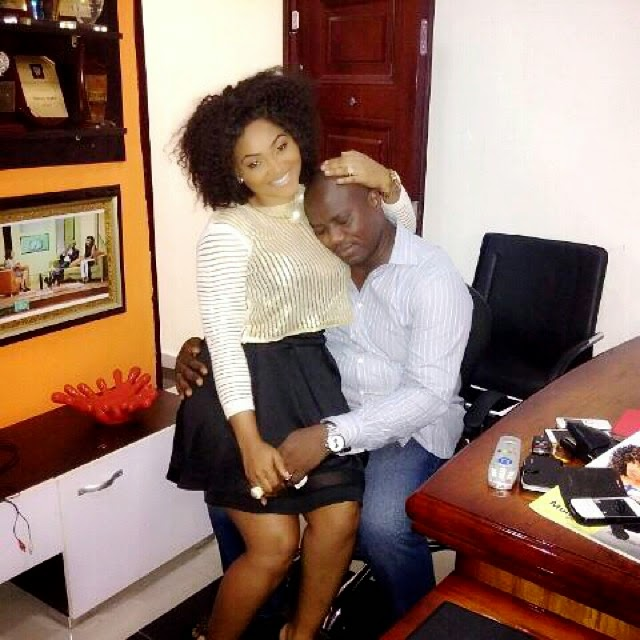 "Mercy Aigbe gushes about ""the love of her life"" in new photo"