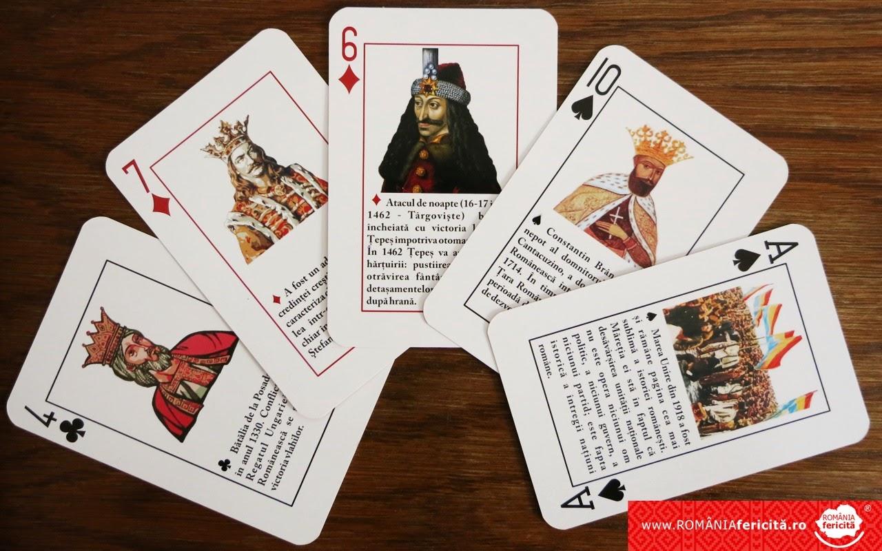 Carti de joc - Istoria Romanilor