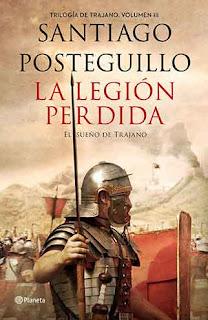 Portada La legión Perdida de Santiago Posteguillo