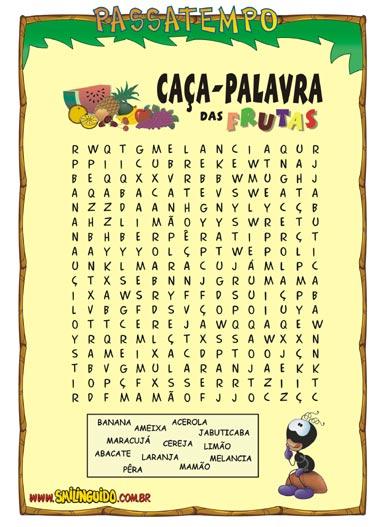 Jornal de Inazuma Ca%25C3%25A7a+Palavras+das+frutas