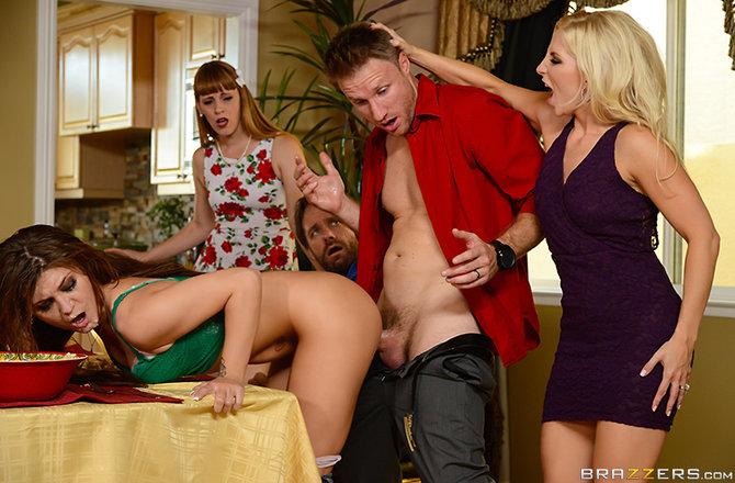 Ashley Fires & JoJo Kiss - Thanksgiving Fuckfeast
