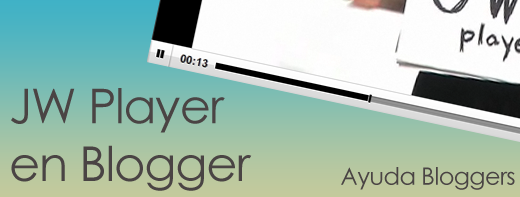 how to add jw player to blogger