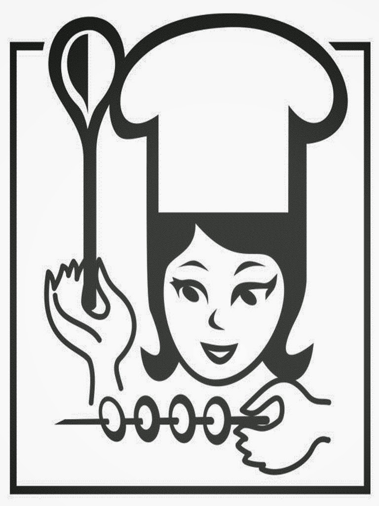 coloring pages of chef hats - photo #33