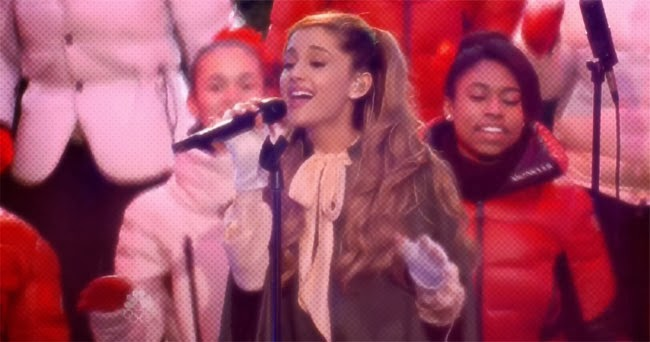 ariana grande Rockefeller Center 2013