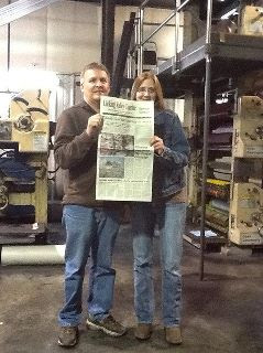 co-workers at Licking Valley Courier