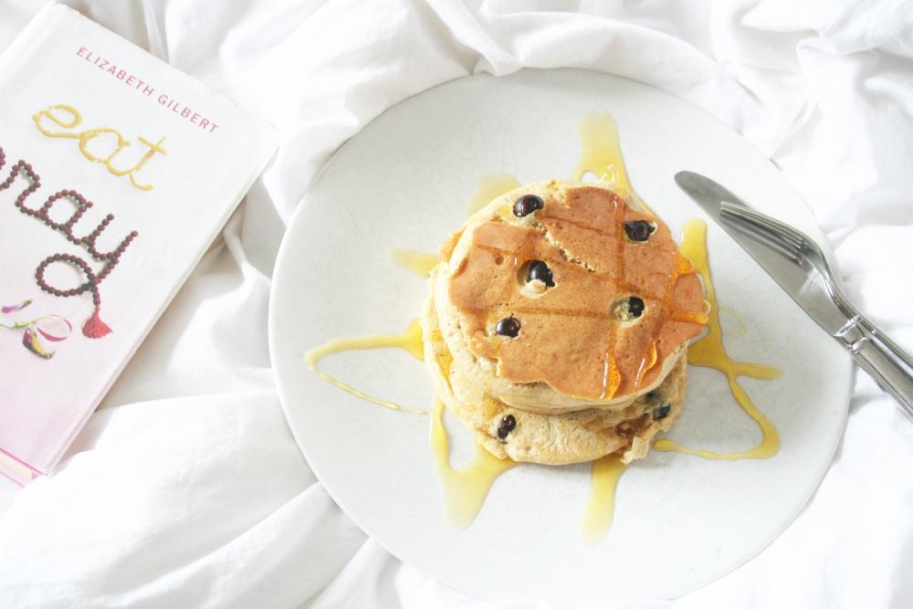 Recipe || Buckwheat and Blueberry Pancakes