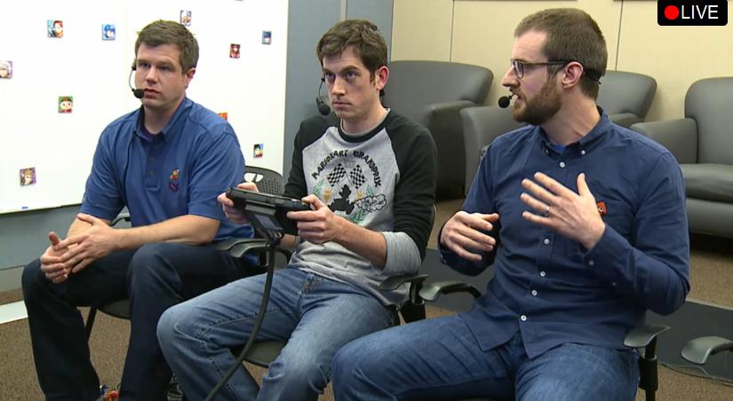 Nintendo Treehouse Splatoon stare intense Direct April 1