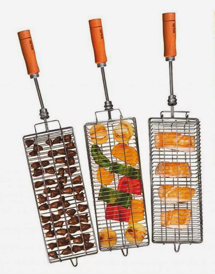 3 Basket Grill Kit for NorCal Ovenworks Brazilian Churrasco Rotisserie Grills