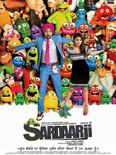 Sardaar Ji 2015 Dual Audio (Hindi – Punjabi) Uncut HDRip 200Mb hevc