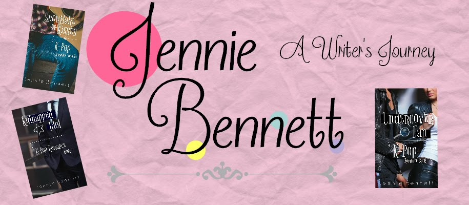 Jennie Bennett, A Writer's Journey