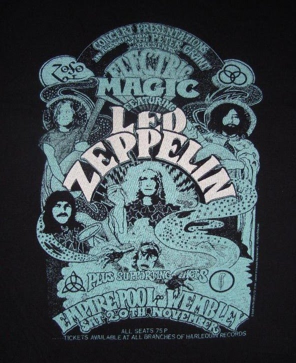 Bundle4life Sold Led Zeppelin Electric Magic Shirt