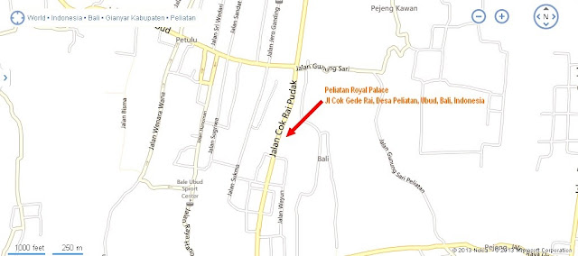 Peliatan Royal Palace Ubud Location Map,Location Map of Peliatan Royal Palace Ubud,Peliatan Royal Palace Ubud Accommodation Destinations Attractions Hotels Map Photos Pictures