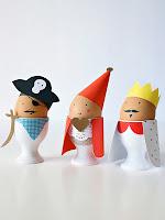 Забавни великденски яйца с украса за деца