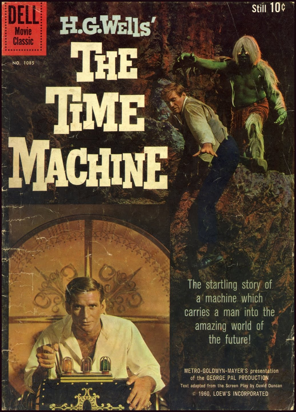 time machine movie 1960 male models picture