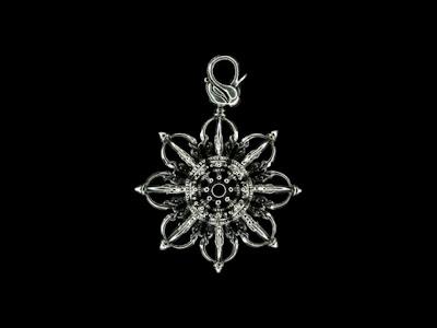 日本銀器品牌ZOCALO的金剛杵和十字金剛杵