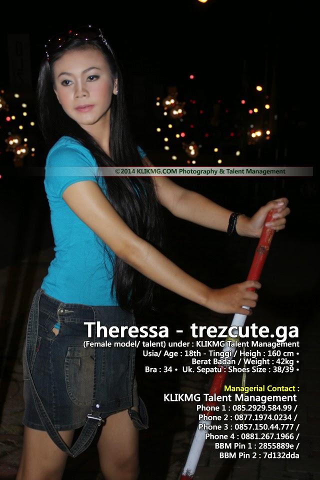Theressa (Trez) Model Purwokerto, Dalam Balutan Busana Casual - foto oleh : Klikmg Fotografi | www.trezcute.ga