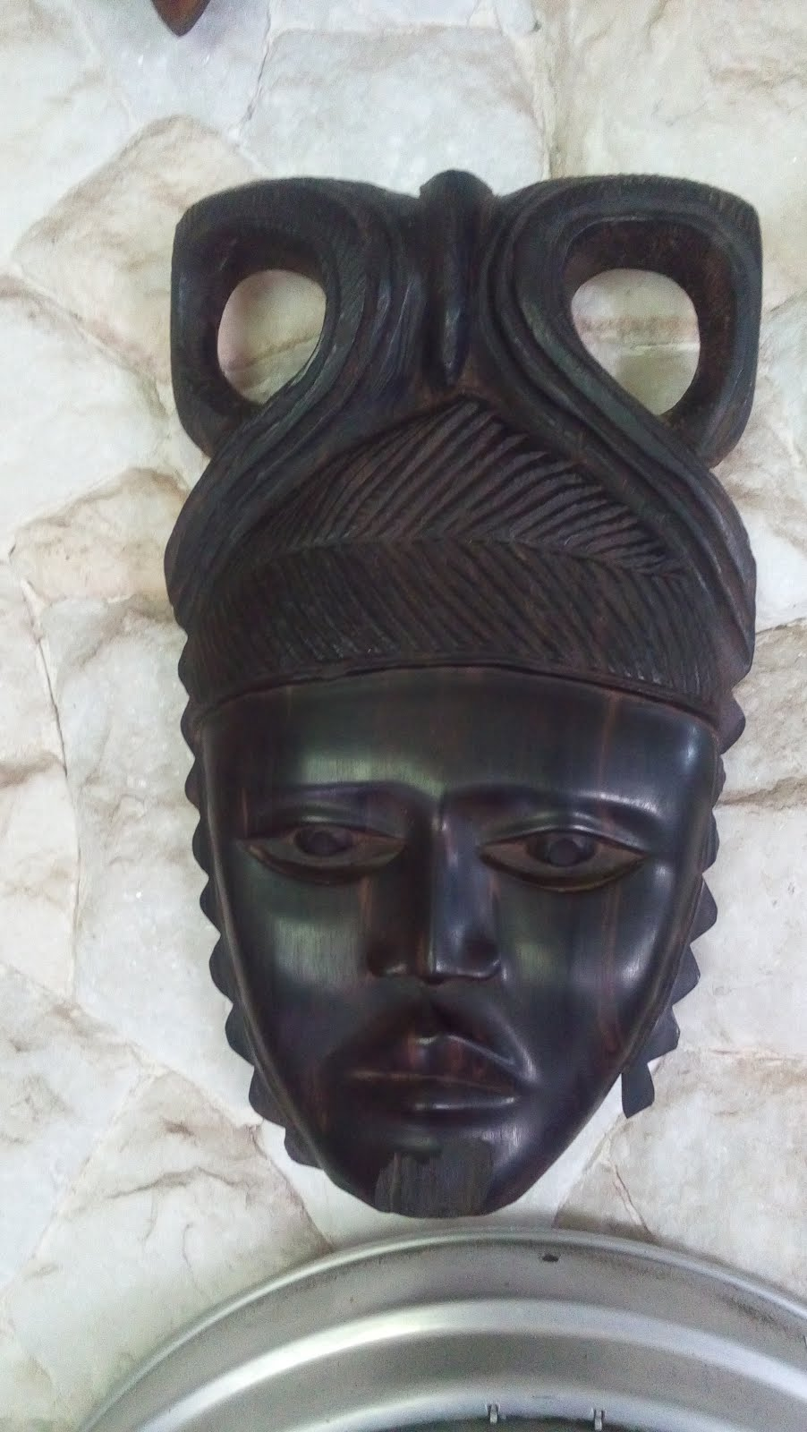 MASCARA DE EBANO AFRICA