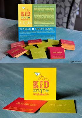 diseño tarjetas cuadradas creativas