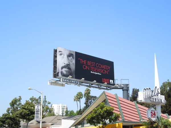 Louie Best Comedy on TV Emmy 2013 billboard