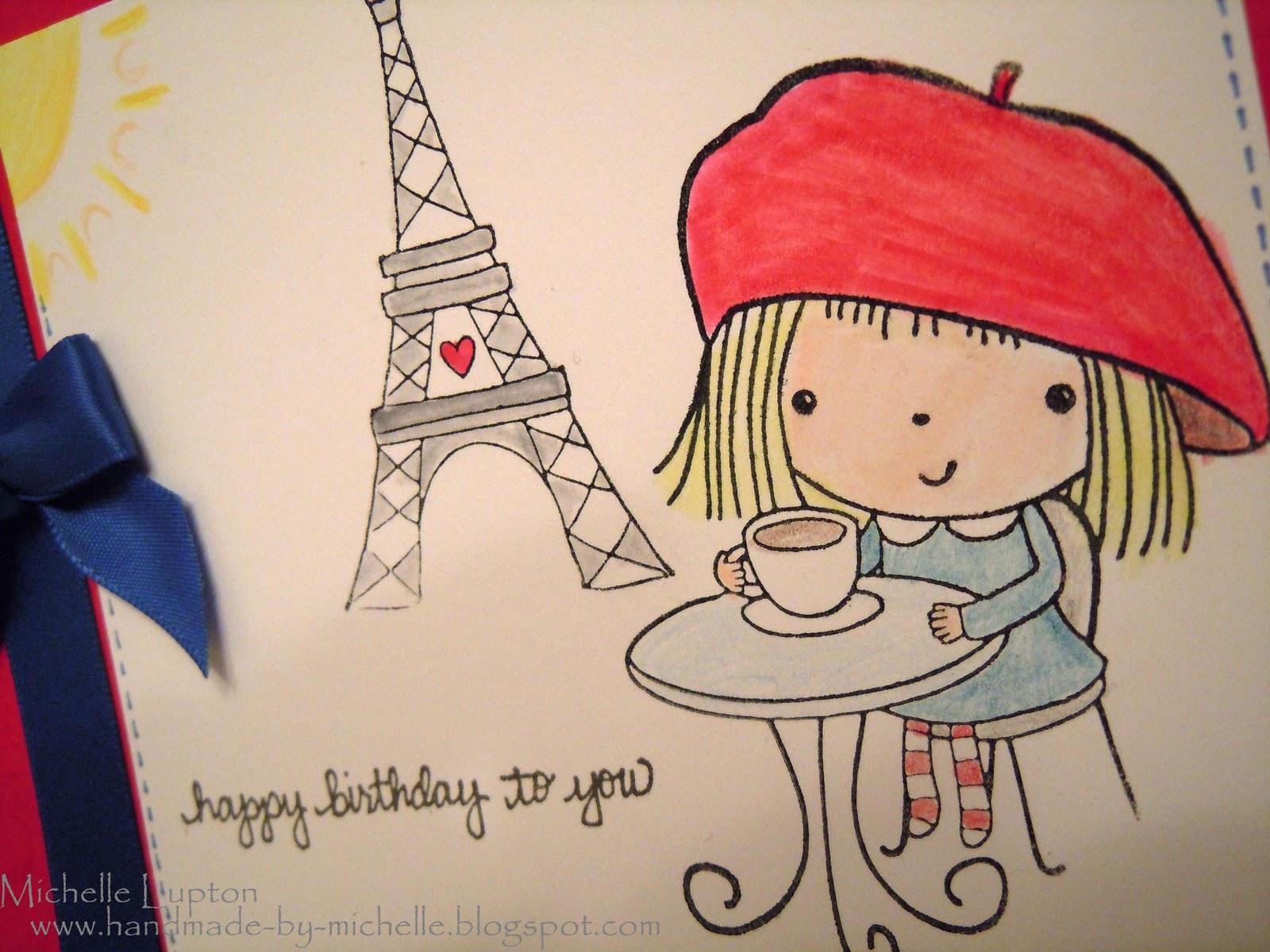 Handmade by Michelle Happy birthday Jackie