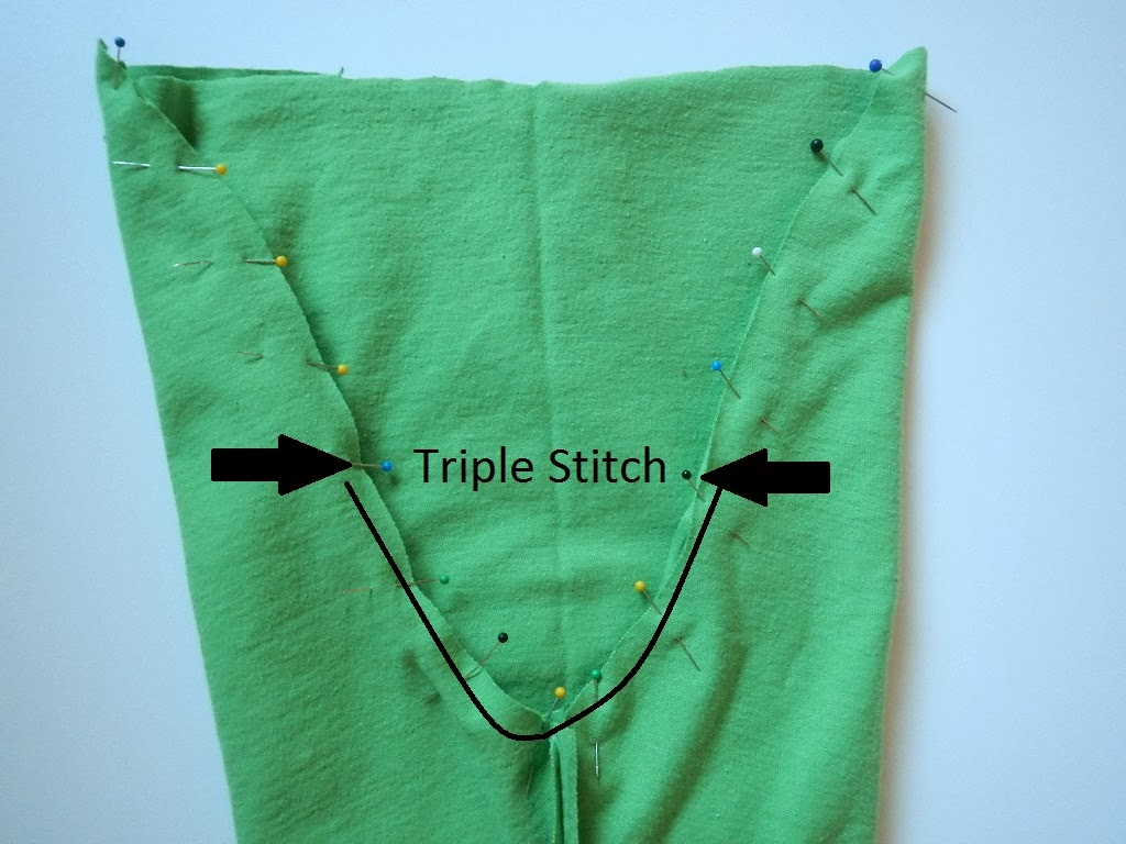 how to sew the crotch seam on a pair of baby toddler pants