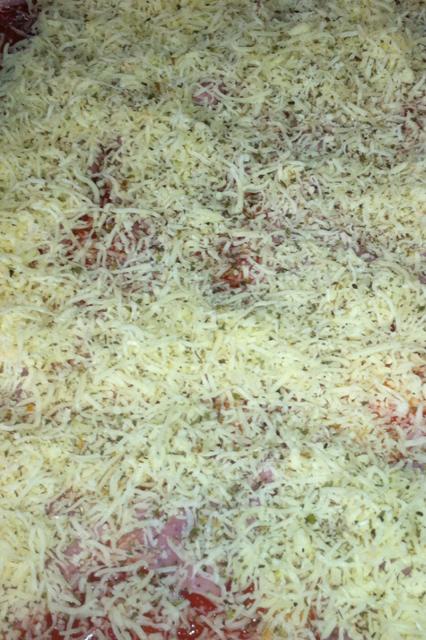 Hem fet pizza