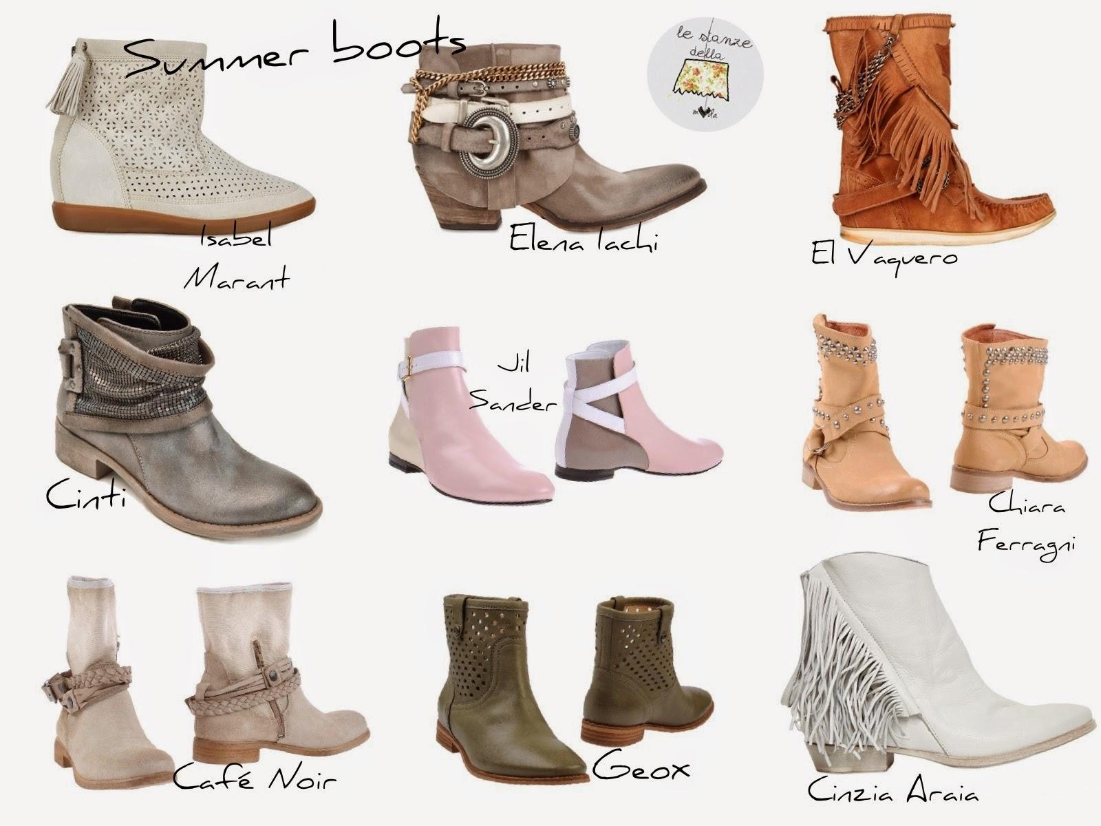 stivali estivi, estate 2014, scarpe 2014 estate, scarpe e scarpe