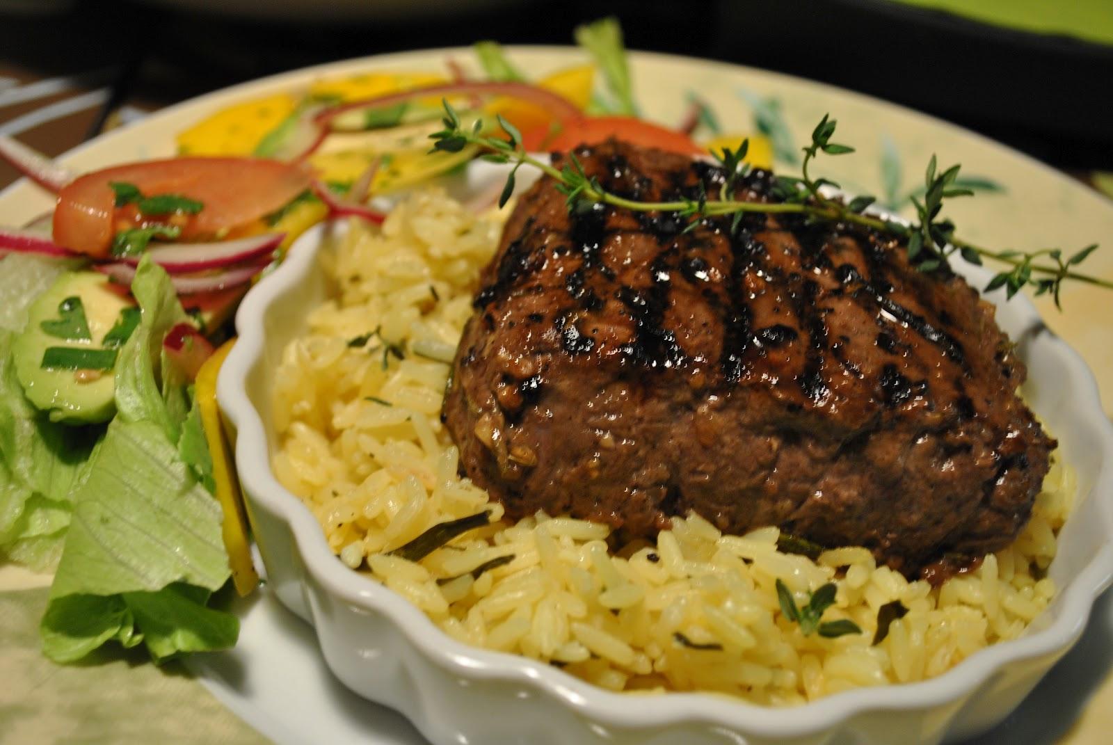 D lices et confession partage de recettes et d couvertes steak de boeuf au romarin - Cuisson filet de boeuf au four chaleur tournante ...