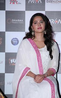 Anushka new photos at bahubali movie trailer launch