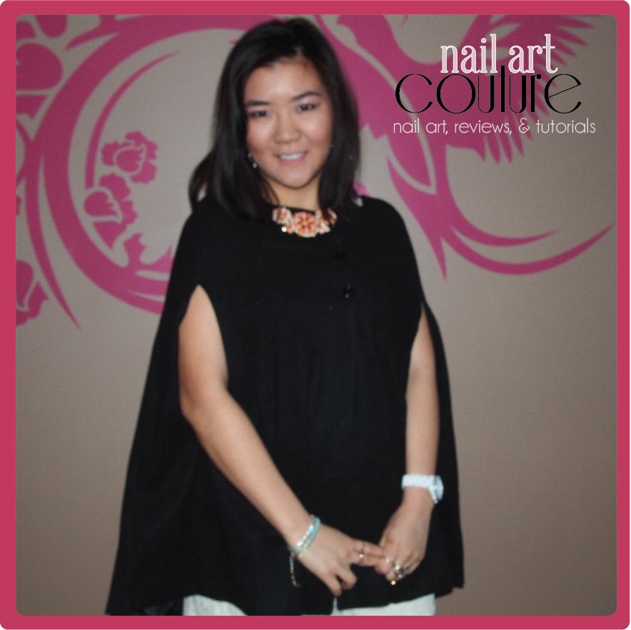 Sammy Dress Vintage Cape Review Nail Art Couture