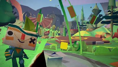 Tearaway PS Vita Exclusive Game