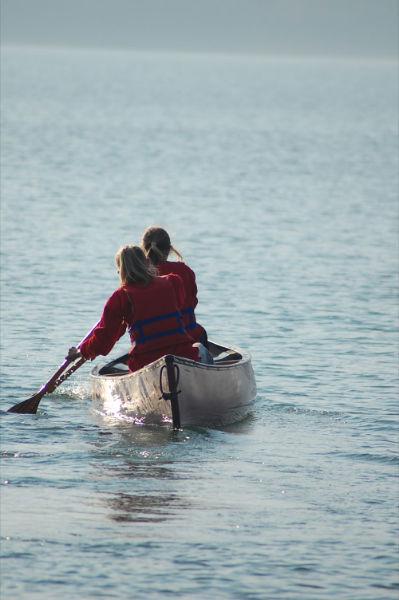 Paseíto en canoa