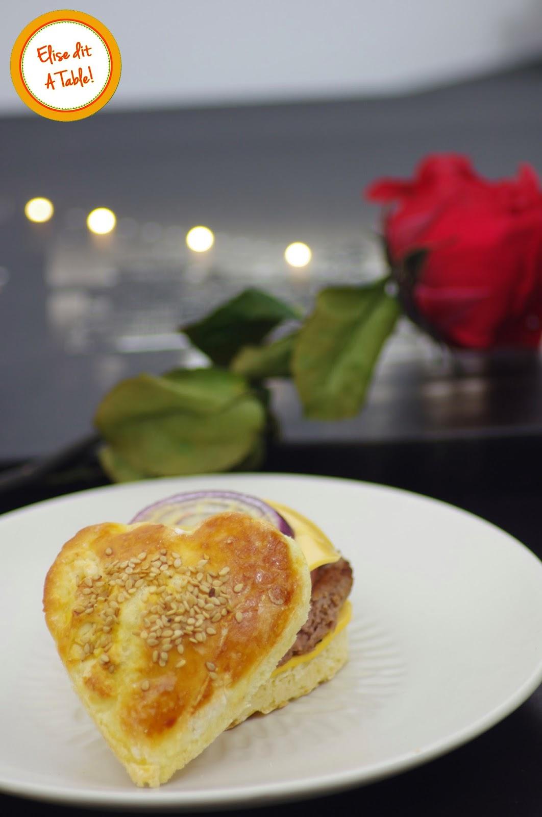 Hamburger de Saint Valentin
