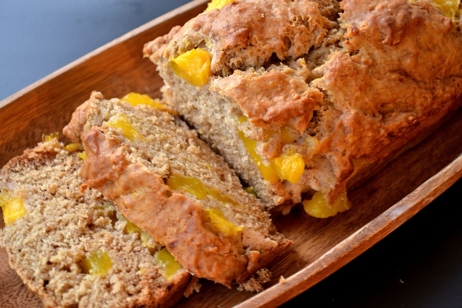 Vegan Mango Banana Bread