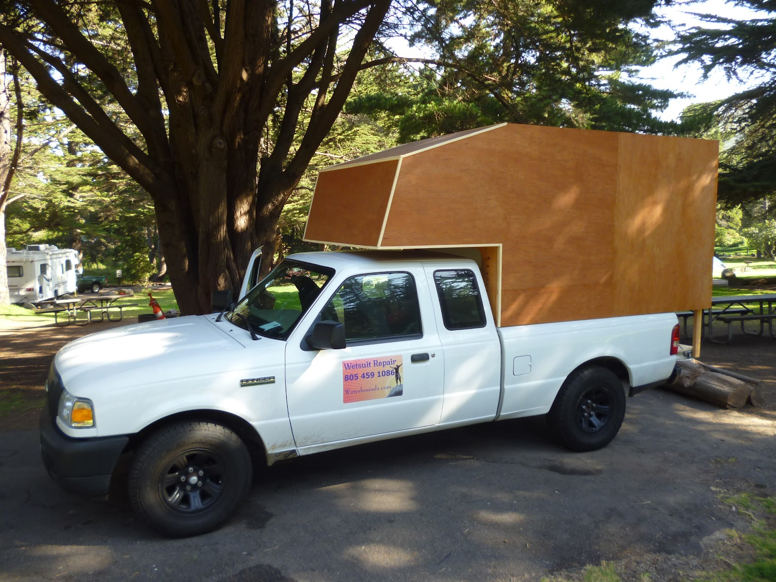 Ranger Cab over camper build continues | Ford Ranger Cabover Vacation