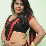Sitara Hot Photos in Saree at Gundello Guchi Guchi Champake Movie Press Meet 15
