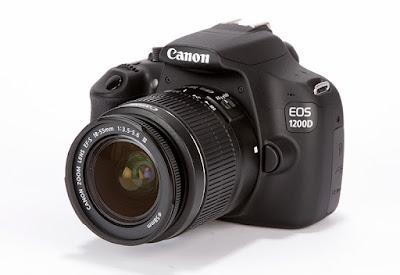 Spesifikasi dan Harga Kamera Canon EOS 1200D