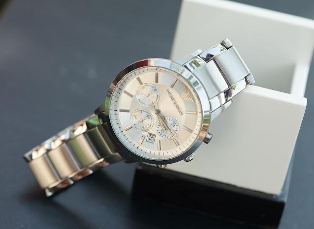 Đồng hồ nam Armani dây inox cao cấp giá rẻ