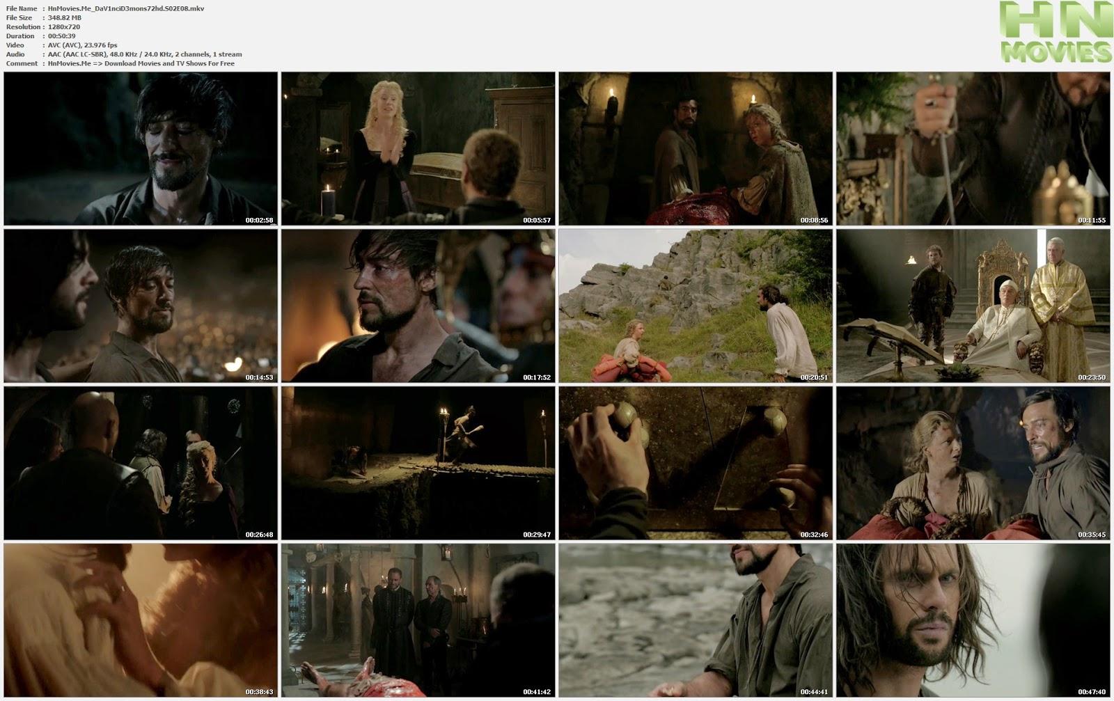 Da Vinci's Demons S02E08 720p HDTV 350MB