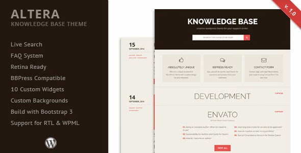 Best Knowledge Base Website Theme