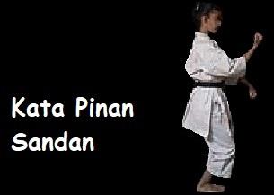 Kata Pinan o Heian Sandan.