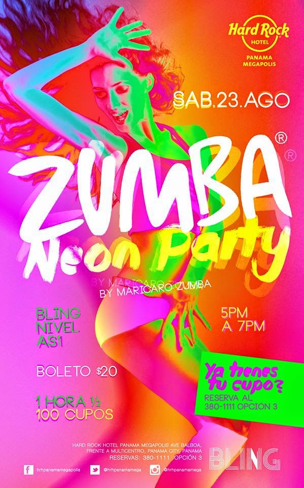 Zumba Neon Party - Hard Rock.
