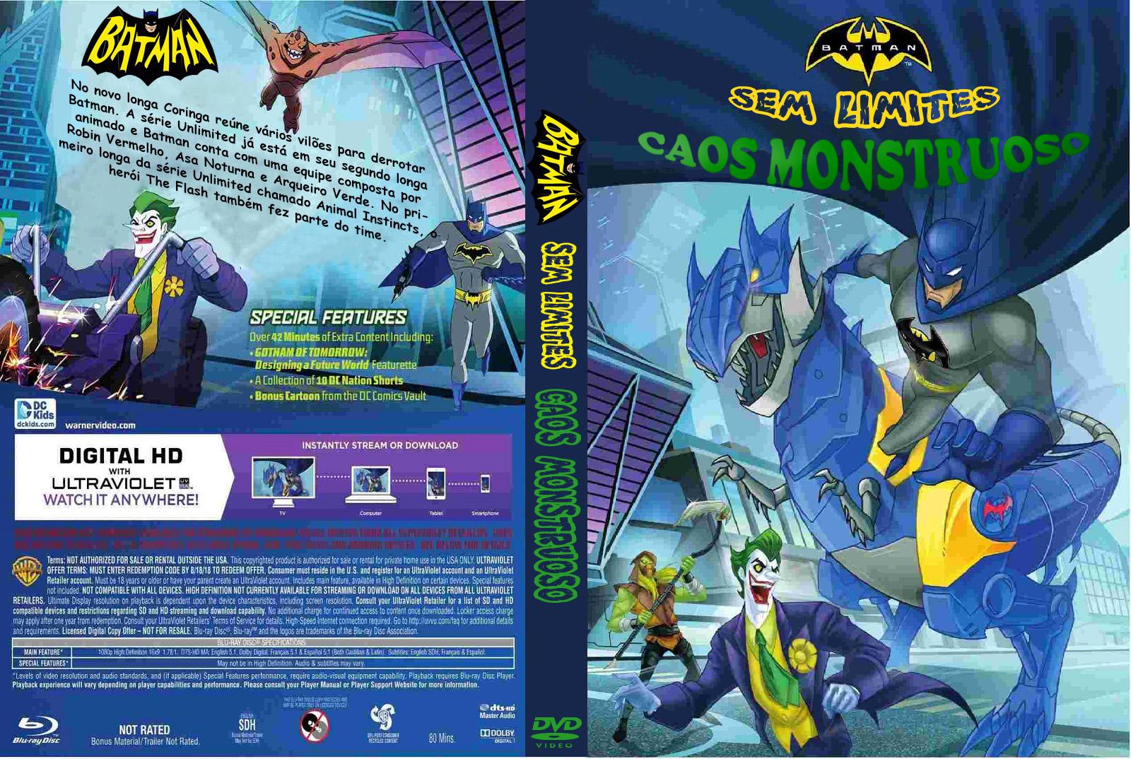 Batman Sem Limites: Caos Monstruoso – Dublado