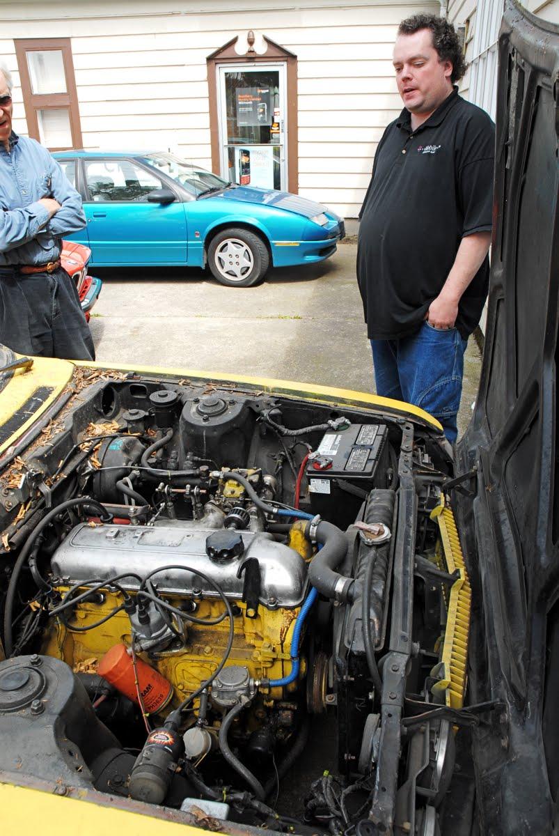 1972 Toyota Celica GT.