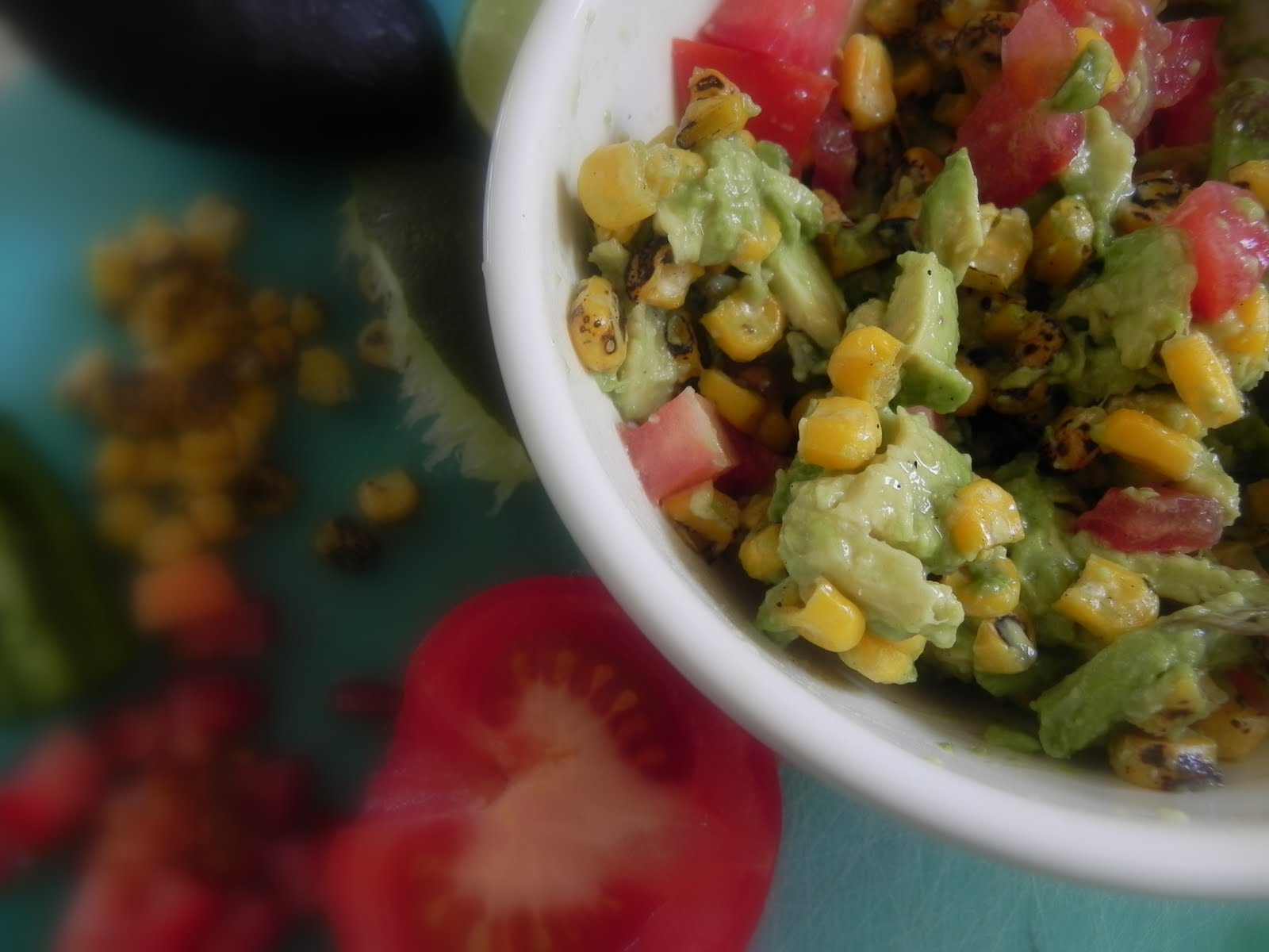 Gift of Simplicity: Avocado & Grilled Corn Salsa