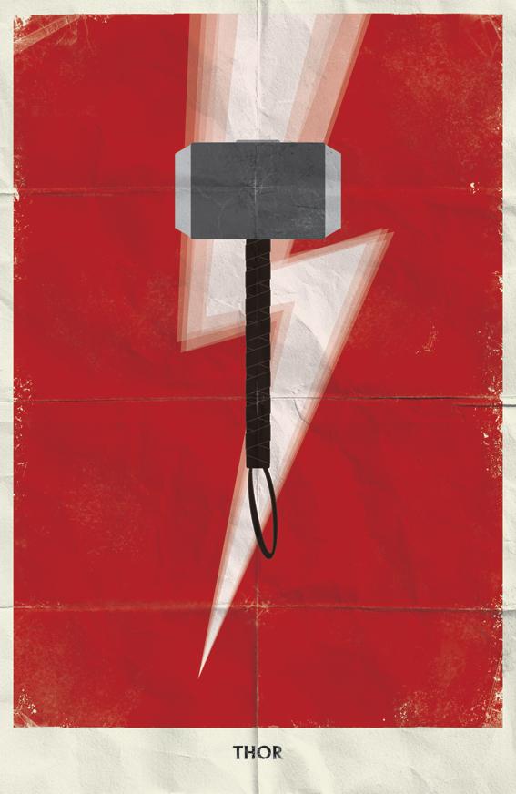 Flyer Goodness Minimalist Marvel Posters By Marko Manev
