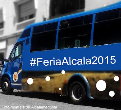 Servicio de transporte público Feria 2015 Alcalá de Guadaíra